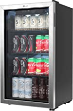 Vremi Beverage Refrigerator and Cooler - 100 to 120 Can Mini