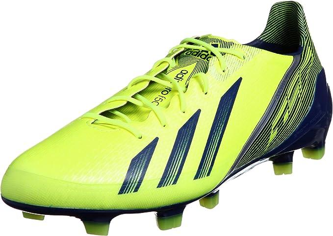 Adidas ADIZERO F50 TRX FG Zapatillas Football Amarillo Azul Oscuro para Hombre