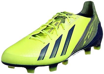 d7fbacf69c3434 Adidas ADIZERO F50 TRX FG Scarpe da Calcio Giallo Blu Scuro per Uomo:  Amazon.it: Sport e tempo libero