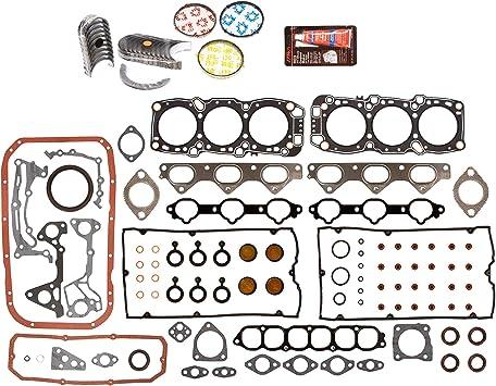 Evergreen Engine Rering Kit FSBRR4030EVE\0\1\1 Fits 97-01 Honda CR-V 2.0 DOHC B20B4 B20Z2 Full Gasket Set 0.25mm 0.010 Oversize Main Rod Bearings Standard Size Piston Rings