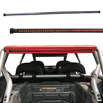 """LED 30"""" Offroad Rear Chase Tail light LED Light bar w/Amber signal Light for UTV, ATV, Polaris, RZR, Side by Sides, 4x4, Trophy Truck Polaris XP RZR 1000 900, Side by Side Offroad Vehicle: Automotive"""
