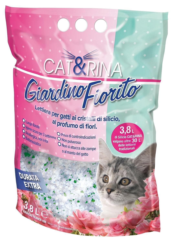 Arena de Silice para Gatos Perfumada Flores del Jardín - 3,8 l: Amazon.es: Productos para mascotas