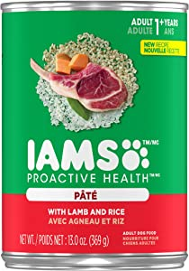 IAMS PROACTIVE HEALTH Canned Wet Dog Food, 12 count