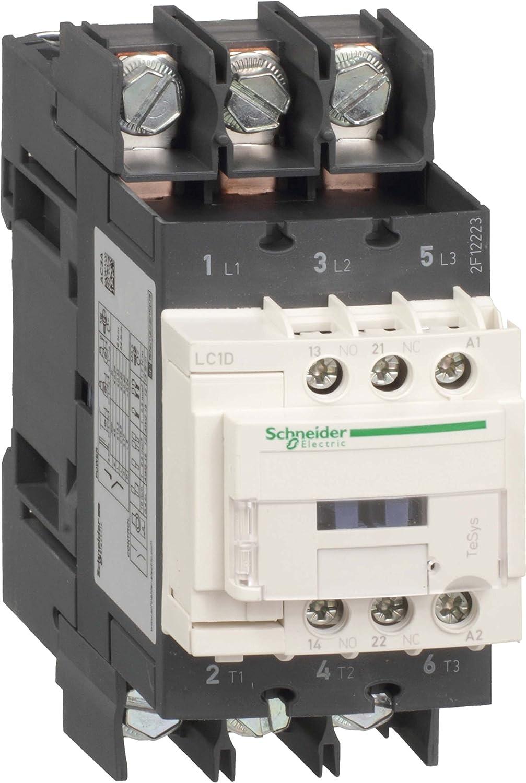 Spule 110V DC 3p+1S+1/Ö 22kW//400V//AC3 Schneider LC1D50A6FD Leistungssch/ütz 50A