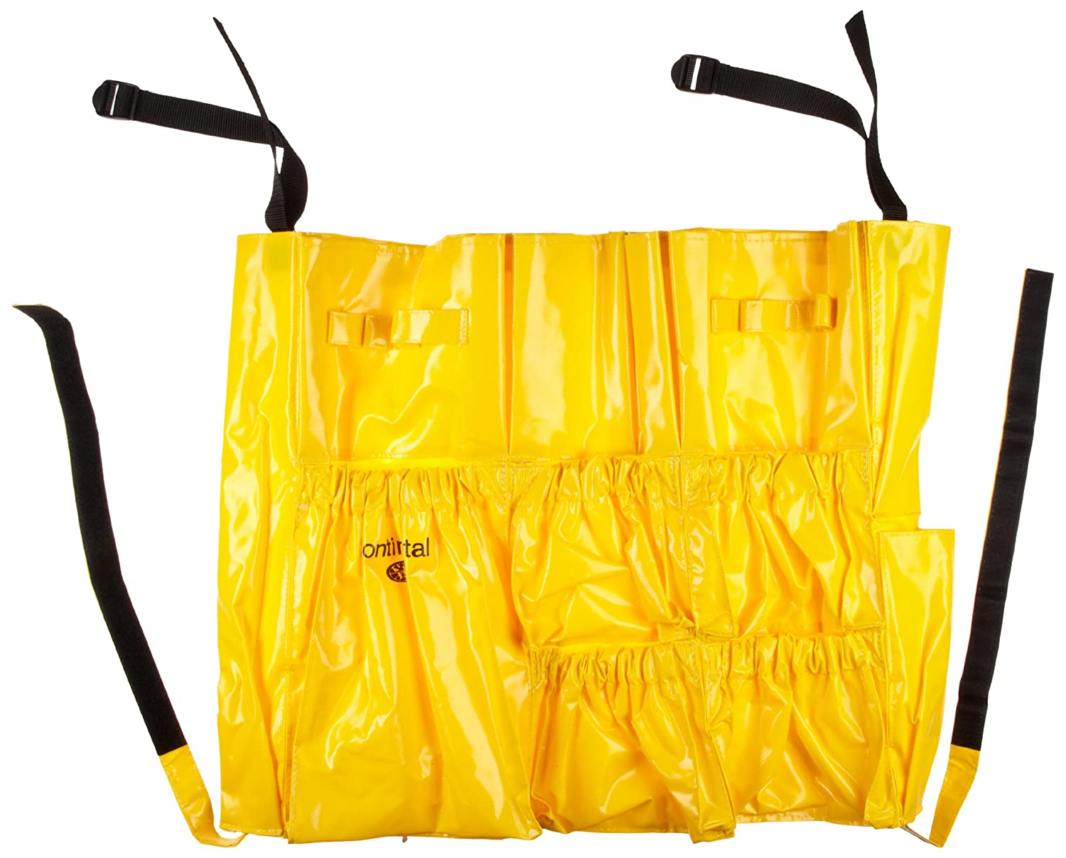Continental 3175 Yellow Vinyl Huskee Caddy Bag
