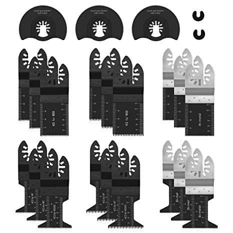 Amazon.com: Cuchillas de sierra oscilantes de herramienta ...