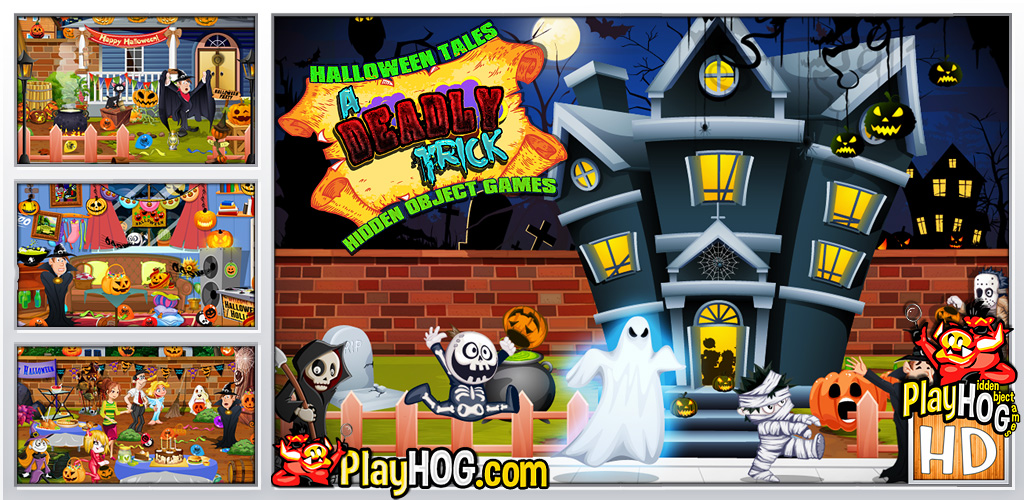 Halloween Tales - A Deadly Trick - Find Hidden Object Game [Download] (Halloween Pc Games)