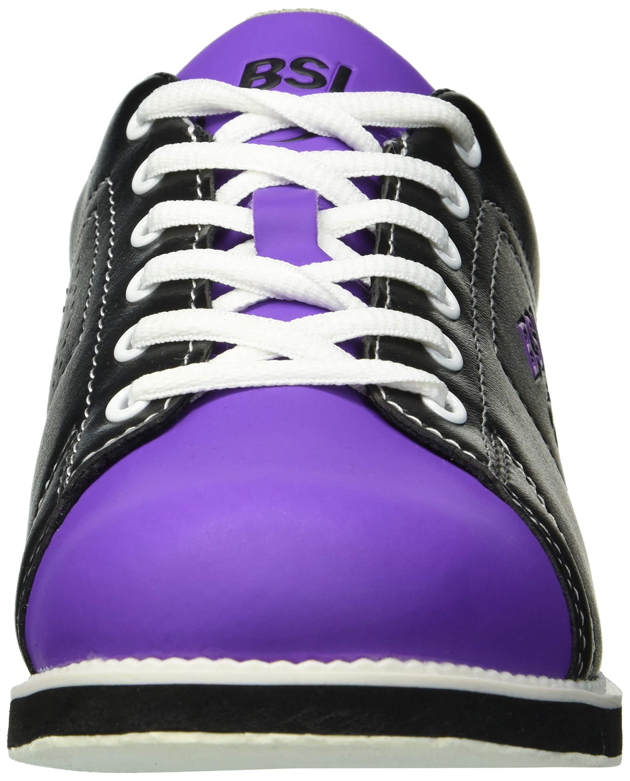 BSI 654 Women's Classic #654, Black/Purple, 7.0 by BSI (Image #4)