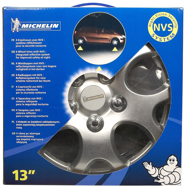 Michelin 00902 NVS 938 - Tapacubos para coche (4 unidades): Amazon.es: Coche y moto
