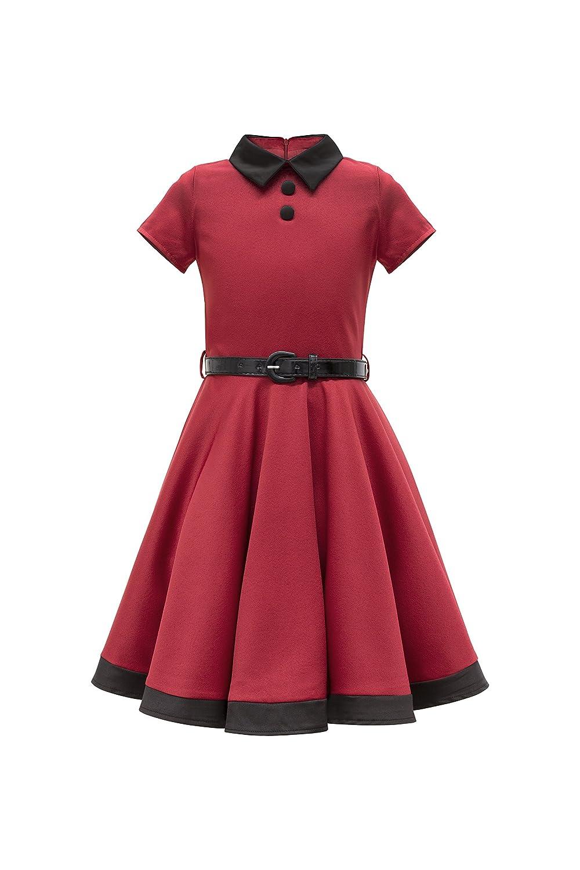 BlackButterfly Kids 'Lucy' Vintage Clarity 50's Girls Dress