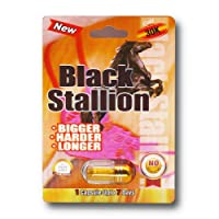 Black Stallion 30k SOLID GOLD  3D - 10 Pills Platinum Male Enhancement Pill - US Shipping