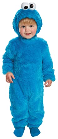 Light-Up Cookie Monster Toddler Costume - Toddler Small  sc 1 st  Amazon.com & Amazon.com: Disguise Costumes Sesame Street Light Up Cookie Monster ...