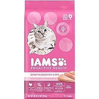 Iams Proactive Health Sensitive Stomach Adult Cat Food, Chicken & Turkey