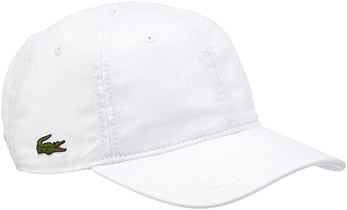 bb2bbd14 Lacoste Men's RK9811 Baseball Cap, White (Blanc), One Size