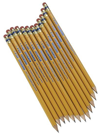 amazon com write dudes usa gold premium cedar no 2 pre sharpened