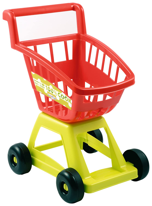Amazon.com: Ecoiffier Imitations Empty Supermarket Trolley Toy: Toys & Games