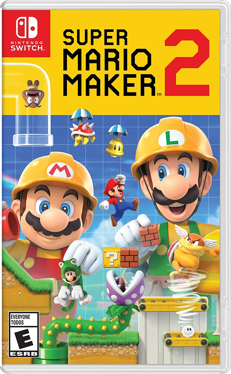 Amazon.com: Super Mario Maker 2 - Nintendo Switch [Digital ...