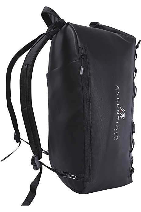 Water Resistant Ascentials Pro Meta Business Travel Backpack 15 Laptop Messenger for Men