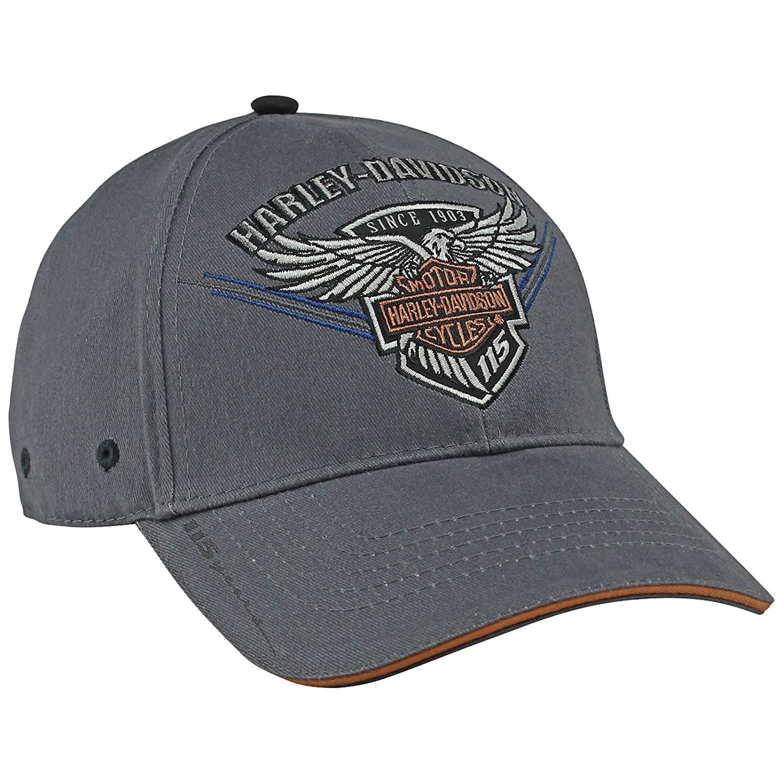 Harley-Davidson Military - 115th Anniversary Edition Ballcap - 115 Eagle   Overseas Tour