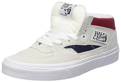 Vans Half Cab, Zapatillas Altas Unisex Adulto, Verde (Mono Buck), 45 EU amazon-shoes el-gris Zapatillas altas