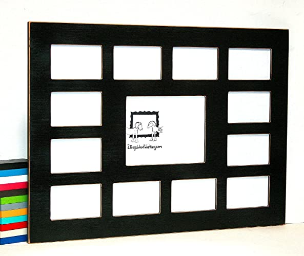 Amazon.com: Collage picture frame, School years or First year, Multi ...