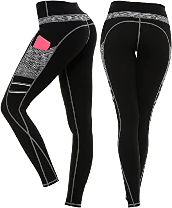 Abby Girls Womens Yoga Fitness Leggings Womens Gym Stretch Running Sports Pants Elegant Yoga Sports Fitness Spandex Gym Pants Leggins Pants