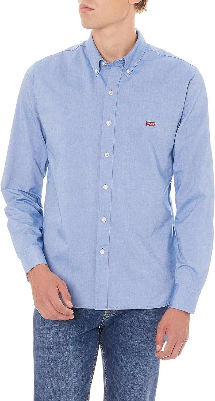Levis LS Housemark Shirt Camisa, Azul (True Blue 0001), Small para Hombre: Amazon.es: Ropa y accesorios