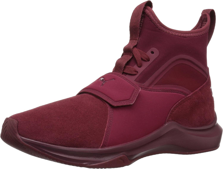 PUMA Women's Phenom Suede Wn Sneaker