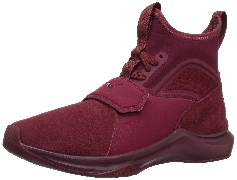 PUMA Women's Phenom Suede Wn Sneaker B071XD53TK 5.5 B(M) US|Cordovan-cordovan