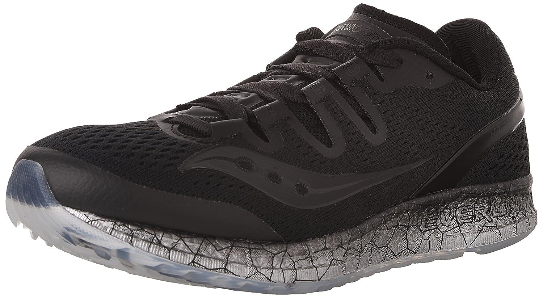 Saucony Women's Freedom ISO Running Shoe B01GIJRAEU 11 B(M) US|Black