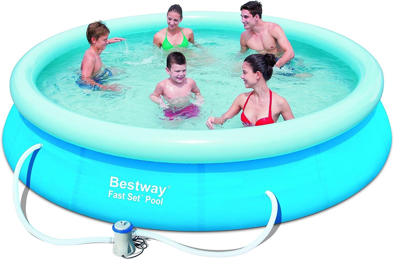 Bestway - Juego de piscina sobre el suelo (3, 65 x 76, 2 cm): Amazon.es: Jardín