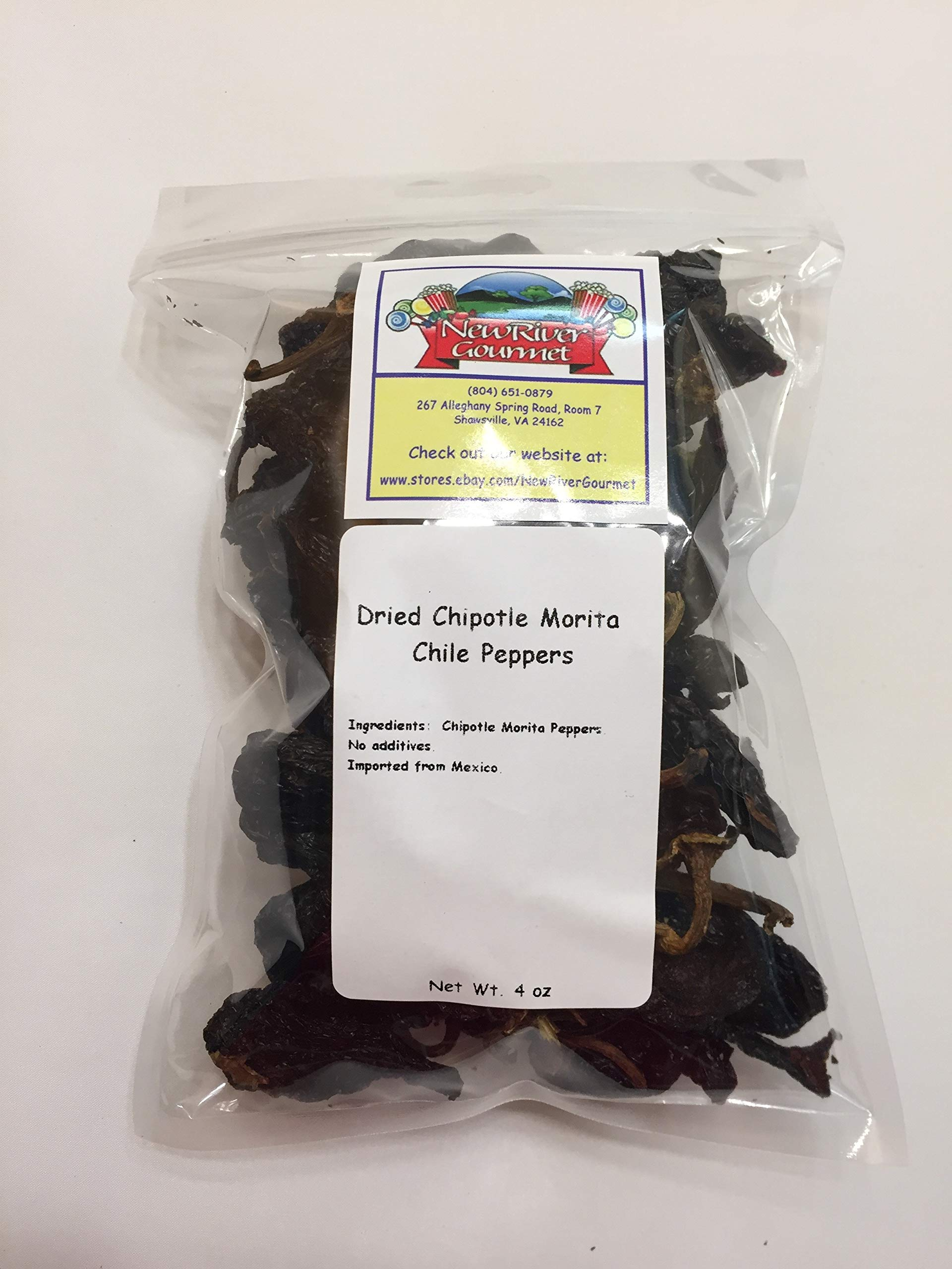 Whole Chipotle Morita Chiles From Mexico (4 ounces)