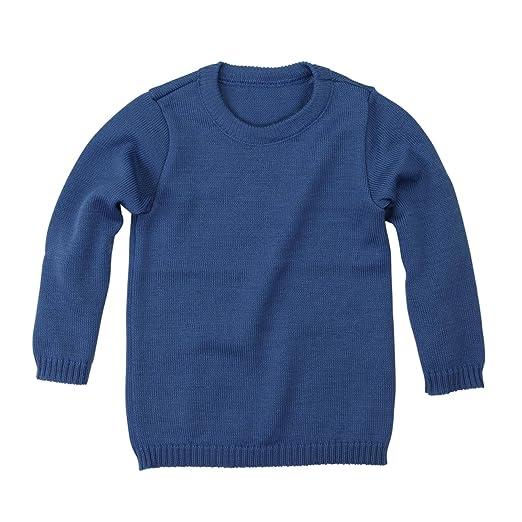 43f041ca9e Disana Basic-Pullover - 86/92 - anthrazit/grau melange: Amazon.de:  Bekleidung