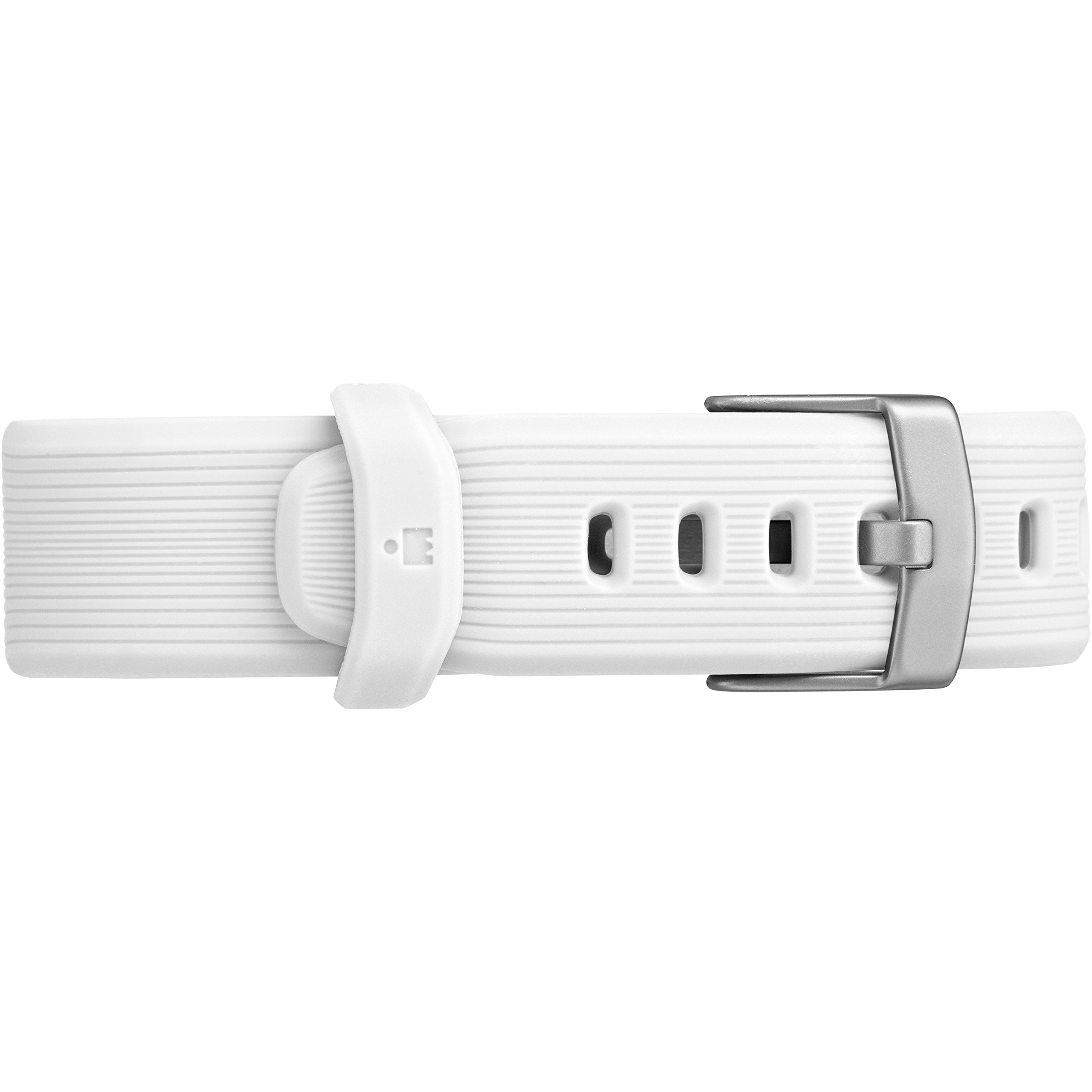Timex Unisex TW5M11900 Ironman GPS White Silicone Strap Watch by Timex (Image #2)