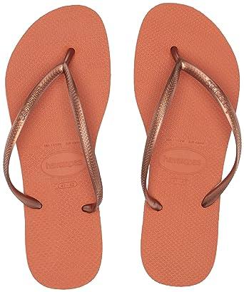 53936a5f2 Image Unavailable. Image not available for. Color  Havaianas Shoes Women s  Slim Flip Flop Sandal ...