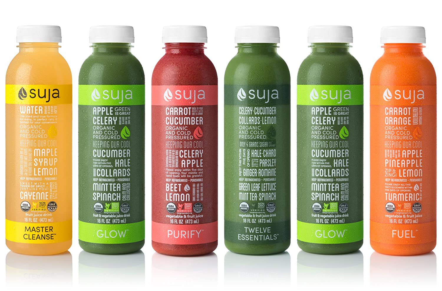 Amazon suja juice organic cold pressed 3 day fresh start 18 amazon suja juice organic cold pressed 3 day fresh start 18 count fruit juices grocery gourmet food malvernweather Images