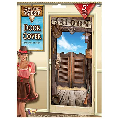 Forum Novelties Wild West Door Cover Decoration: Toys & Games