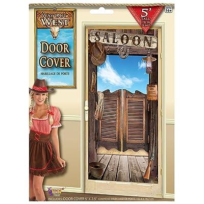 Forum Novelties Wild West Door Cover Decoration: Toys & Games
