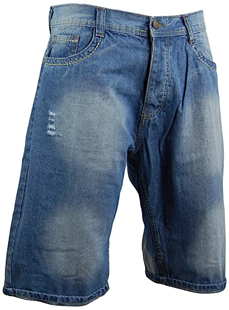 "5f7b840b405 Men's 14"" Denim Jean Shorts 