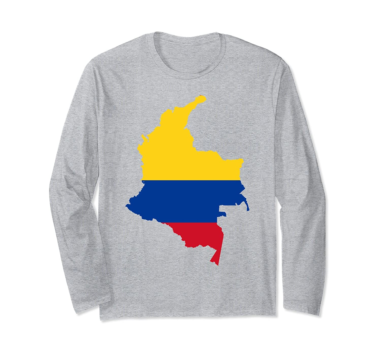 columbia country national flag outline shirtln � lntee