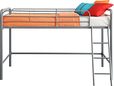 Amazon Com Dorel Living Sierra Triple Bunk Bed Mocha
