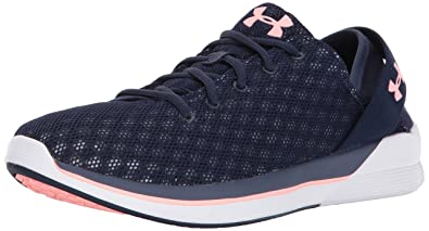 Damen UA W Squad Hallenschuhe, Schwarz (True Ink), 38.5 EU Under Armour