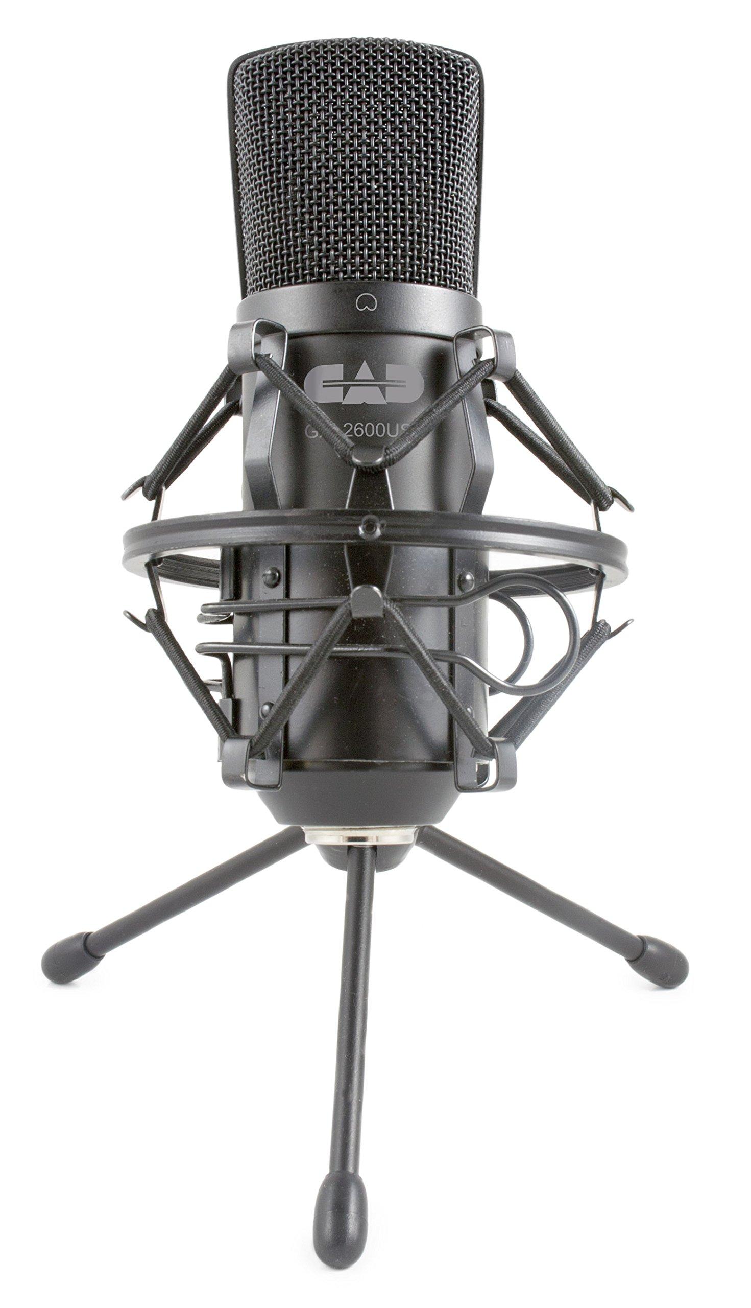 CAD Audio GXL2600USB Micrófono de estudio USB de diafragma grande