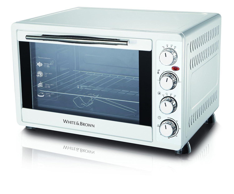 White And Brown MF448 - Horno (Pequeño, Horno eléctrico, 45 L ...