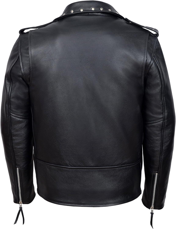 Women Genuine Cowhide Motorcycle Real Leather Slim fit Coat//Jacket for Biker