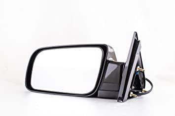 Amazon Com Driver Side Paint Black Non Heated Folding Door Mirror
