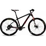 BEIOU Carbon Fiber 650B Mountain Bike 27.5-Inch 10.7kg T800 Ultralight Frame 30 Speed SHIMANO M610 DEORE MTB Matte 3K CB20