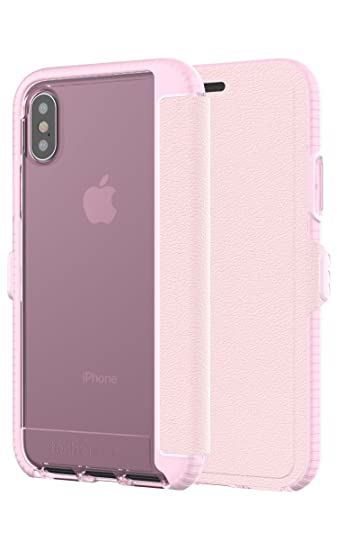new concept ebe54 167c6 Tech21 Evo Wallet Case for Apple iPhone X - Pink
