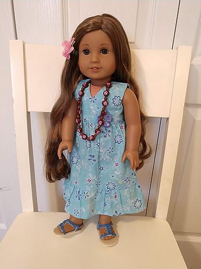 American Girl Lea Clark Doll Meet Accessories New Condition
