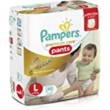 Pampers Premium Care Large Size Diaper Pants (20 Count)